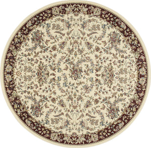 Kathy Ireland Antiquities Timeless Elegance Ivory Area Rug By Nourison ANT07 IVORY
