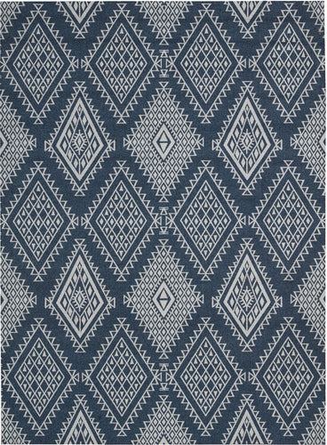 Nourison Enhance Blue Area Rug EN198 BL