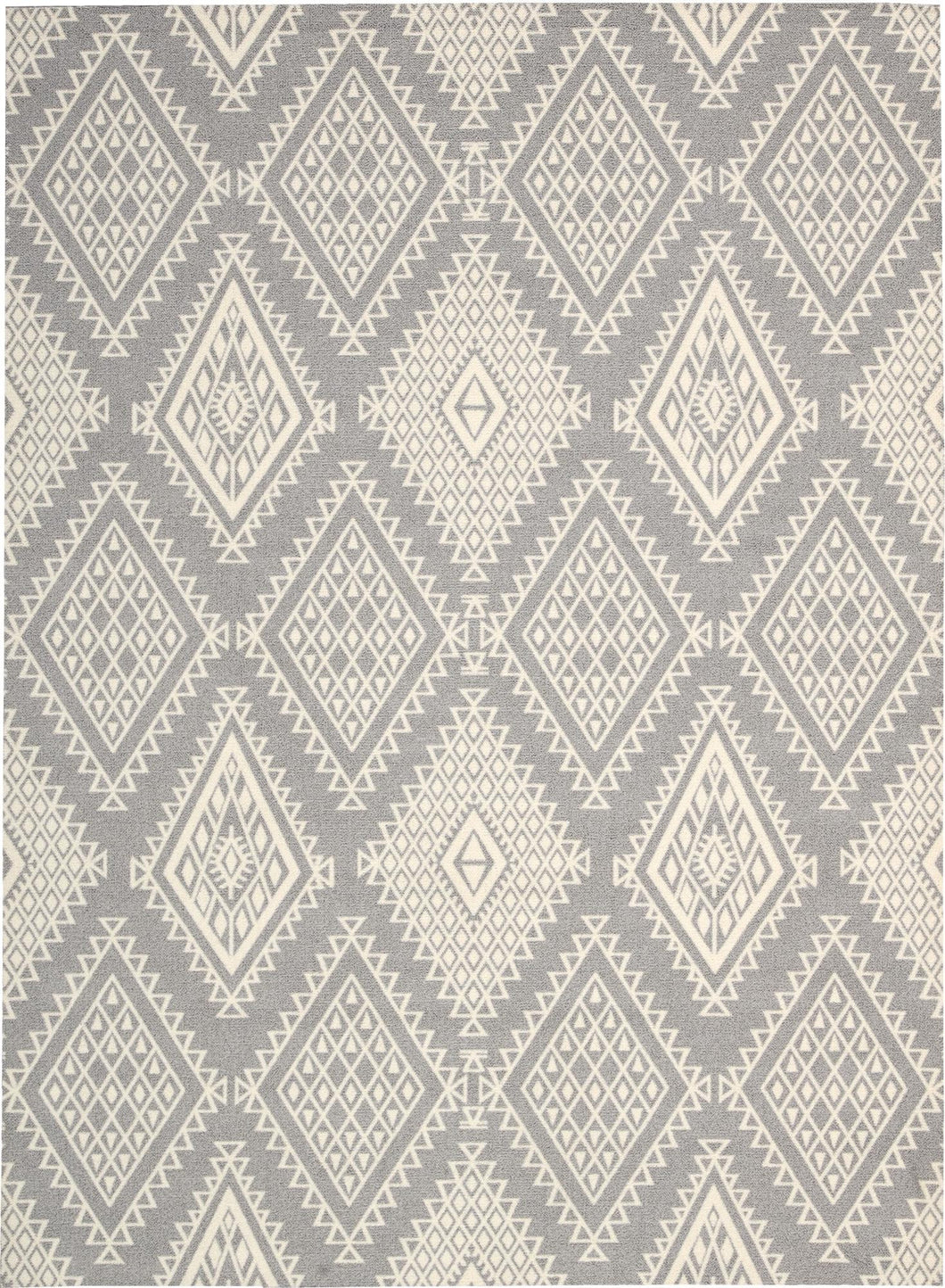 Nourison Enhance Grey Area Rug EN198 GRY