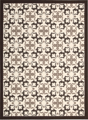 Nourison Enhance Brown Area Rug EN200 BRN