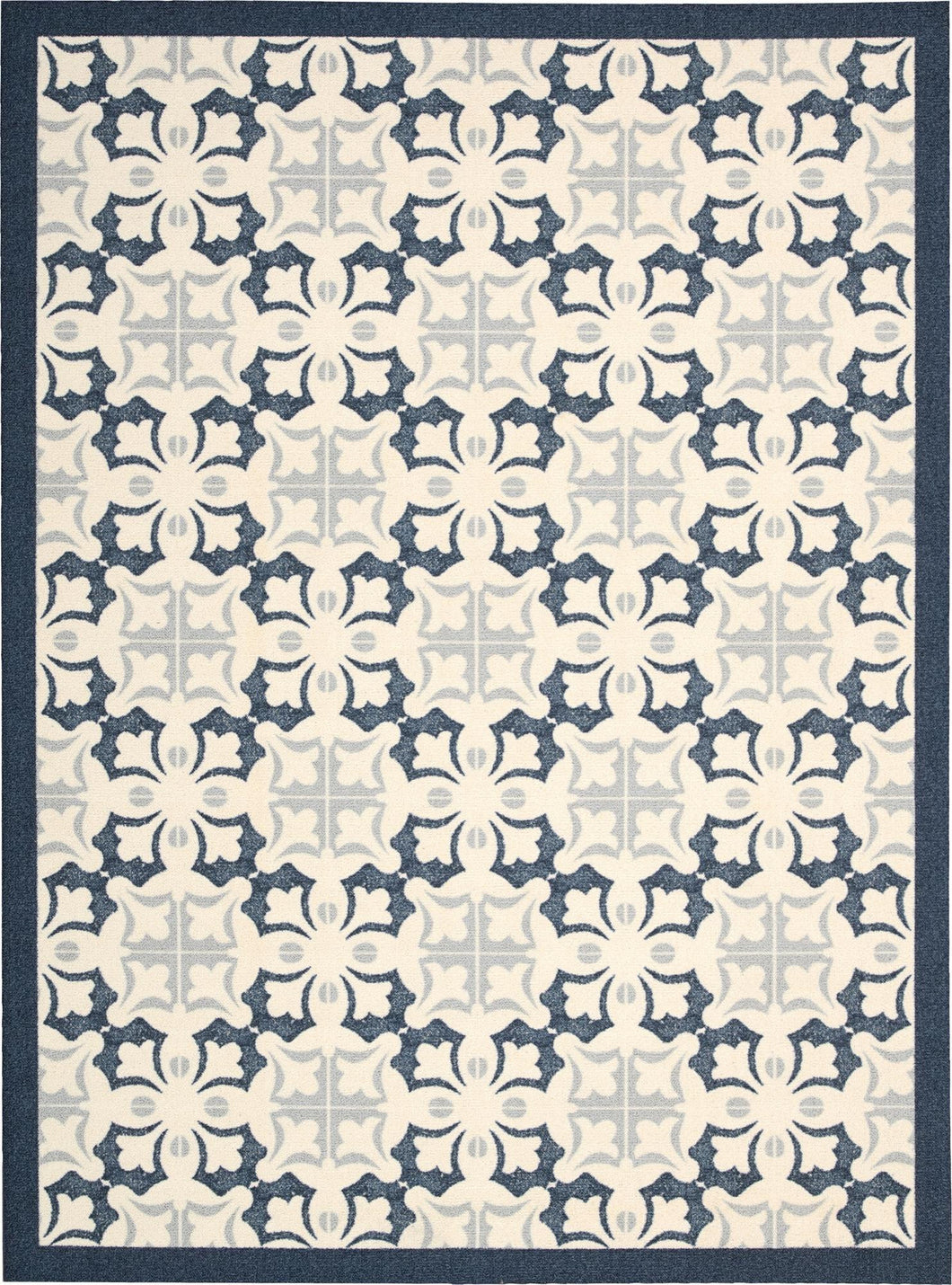 Nourison Enhance Blue Area Rug EN200 BL