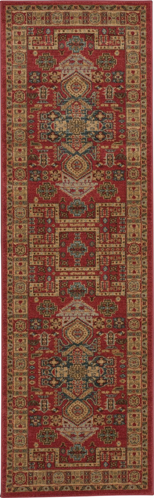 Nourison Maymana Red Area Rug MYN11 RED