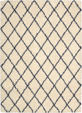 Load image into Gallery viewer, Nourison Brisbane Ivory Blue Area Rug BRI08 IVB