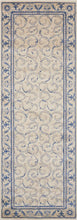 Load image into Gallery viewer, Nourison Somerset Ivory Blue Area Rug ST02 IVBLU