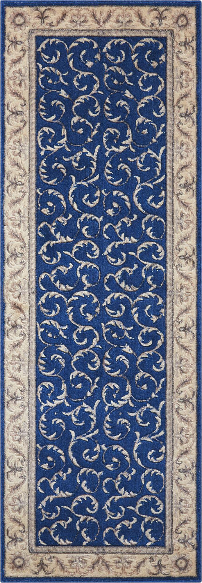 Nourison Somerset Navy Area Rug ST02 NAVY