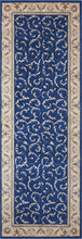 Load image into Gallery viewer, Nourison Somerset Navy Area Rug ST02 NAVY