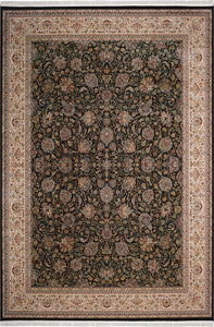 Nourison Persian Palace Navy Area Rug PPL03 NAVY