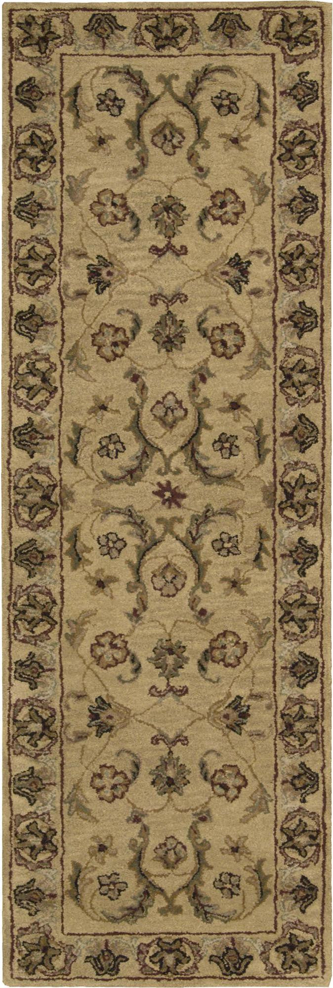Nourison India House Gold Area Rug IH19 GLD