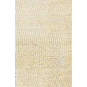 Jaipur Rugs Naturals Solid Pattern Taupe/Gray Jute and Cotton Area Rug