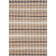 Load image into Gallery viewer, Jaipur Rugs Naturals Stripe Pattern Taupe/Gray Cotton and Jute Area Rug