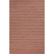 Load image into Gallery viewer, Jaipur Rugs Naturals Stripe Pattern Red Cotton and Jute Area Rug