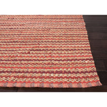 Load image into Gallery viewer, Jaipur Rugs Naturals Stripe Pattern Red Cotton and Jute Area Rug AD15 (Rectangle)