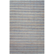 Load image into Gallery viewer, Jaipur Rugs Naturals Stripe Pattern Blue Cotton and Jute Area Rug