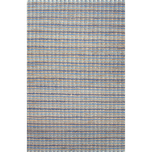 Jaipur Rugs Naturals Stripe Pattern Blue Cotton and Jute Area Rug