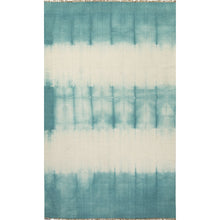 Load image into Gallery viewer, Jaipur Rugs Flat-Weave Tie Dye Pattern Blue/Ivory Wool Area Rug