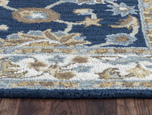Load image into Gallery viewer, Rizzy Home Ashlyn AL2823 Blue Border Area Rug