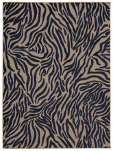 Load image into Gallery viewer, Nourison Aloha Navy Area Rug ALH04 NAV