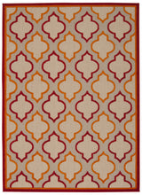 Load image into Gallery viewer, Nourison Aloha Red Area Rug ALH06 RED