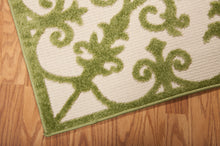 Load image into Gallery viewer, Nourison Aloha Green Area Rug ALH12 GRE