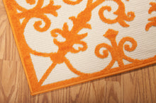 Load image into Gallery viewer, Nourison Aloha Orange Area Rug ALH12 ORG