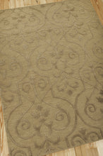 Load image into Gallery viewer, Nourison Ambrose Khaki Area Rug AMB02 KHA