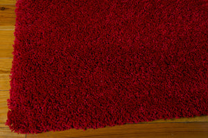 Nourison Amore Red Area Rug AMOR1 RED (Rectangle)