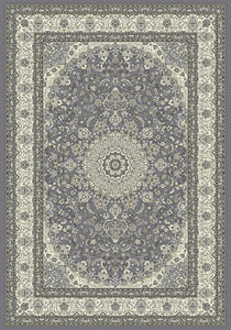 Dynamic Rugs Ancient Garden Grey/Cream Classic Rectangle Area Rug