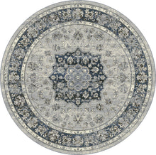 Load image into Gallery viewer, Dynamic Rugs Ancient Garden Silver/Blue Distressed Rectangle Area Rug