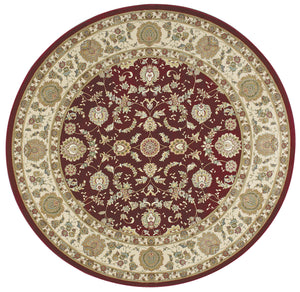 Kathy Ireland Antiquities Empress Garden Garnet Area Rug By Nourison ANT01 GARNE