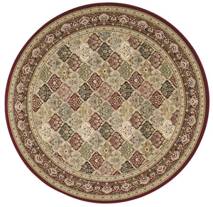Kathy Ireland Antiquities Washington Square Multicolor Area Rug By Nourison ANT02 MTC