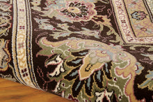 Load image into Gallery viewer, Kathy Ireland Antiquities American Jewel Espresso Area Rug By Nourison ANT03 ESPRE