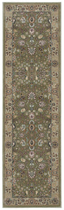Kathy Ireland Antiquities Royal Countryside Sage Area Rug By Nourison ANT04 SAGE