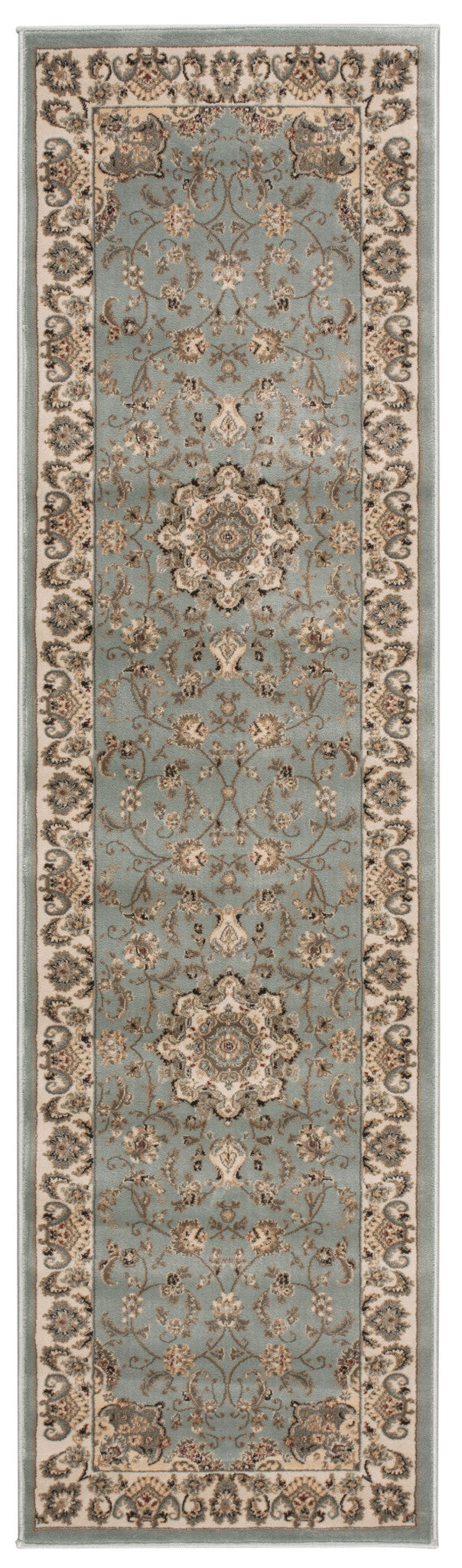 Nourison Ararat Light Blue Area Rug ARA02 LTB