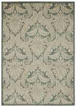 Load image into Gallery viewer, Nourison Aristo Blue Ivory Area Rug ARS05 BLUIV