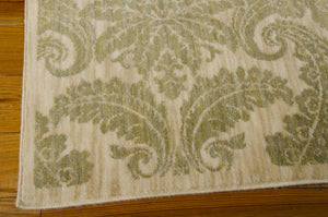Nourison Aristo Khaki Area Rug ARS05 KHA (Rectangle)