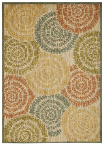 Nourison Aristo Light Multicolor Area Rug ARS08 LMT