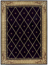 Load image into Gallery viewer, Nourison Ashton House Black Area Rug AS03 BLK