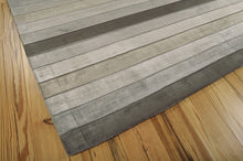 Load image into Gallery viewer, Nourison Aura Silver Shadow Area Rug AUR01 SLVDW (Rectangle)