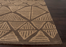 Load image into Gallery viewer, Jaipur Rugs Modern Tribal Pattern Brown Wool Area Rug AZT01 (Rectangle)