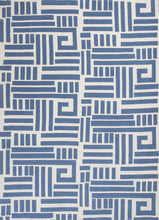 Load image into Gallery viewer, Kas Rugs Allure 4071 Blue/Ivory Visions Area Rug