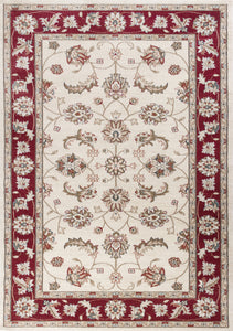 Kas Rugs Avalon 5613 Ivory/Red Mahal Area Rug