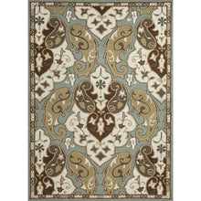 Load image into Gallery viewer, Jaipur Rugs Indoor-Outdoor Floral Pattern Blue/Ivory Polypropylene Area Rug
