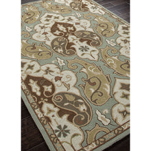 Load image into Gallery viewer, Jaipur Rugs IndoorOutdoor Floral Pattern Blue/Ivory Polypropylene Area Rug BA15 (Rectangle)