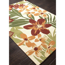 Load image into Gallery viewer, Jaipur Rugs IndoorOutdoor Floral Pattern Red/Orange Polypropylene Area Rug BA44 (Rectangle)