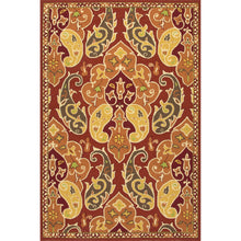 Load image into Gallery viewer, Jaipur Rugs Indoor-Outdoor Floral Pattern Red/Orange Polypropylene Area Rug