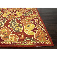 Load image into Gallery viewer, Jaipur Rugs IndoorOutdoor Floral Pattern Red/Orange Polypropylene Area Rug BA60 (Rectangle)