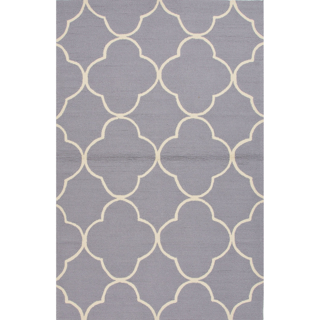 Jaipur Rugs Indoor-Outdoor Geometric Pattern Taupe/Tan Polypropylene Area Rug