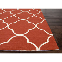 Load image into Gallery viewer, Jaipur Rugs IndoorOutdoor Geometric Pattern Red Polypropylene Area Rug BA66 (Rectangle)
