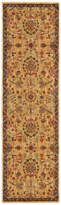 Kathy Ireland Ancient Times Persian Treasure Gold Area Rug By Nourison BAB01 GLD