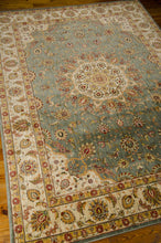 Load image into Gallery viewer, Kathy Ireland Ancient Times Palace Teal Area Rug By Nourison BAB02 TL